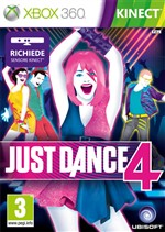 Just Dance 4 Kinect Xbox360