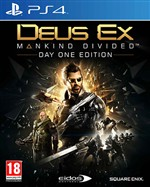 Deus Ex Mankind Divided Ps4 Dayone Ed.