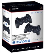 Ps3 Wireless Controllers Twin Pack