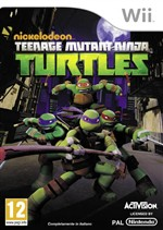 Teenage Mutant Ninja Turtles 2013 Wii