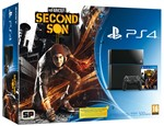 Console Ps4 500gb + Infamous Second Son
