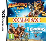 Madagascar 3 + Croods Combo Pack 3ds
