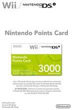 Nintendo Points Card 3000
