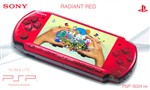 Console Psp 3000 Radiant Red