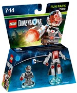 Lego Dimensions Fun Pack Dc Cyborg