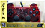 Dual Shock 2 Crimson Red Ps2