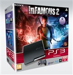 Console Ps3 320gb + Infamous 2 Ps3