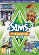 The Sims 3 Vivi La Citta' Stuff Pc