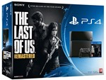 Console Ps4 500gb + The Last Of Us Rem.
