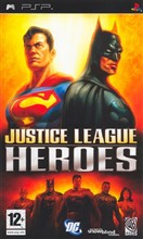 Justice League Heroes Psp
