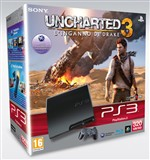 Console Ps3 320gb + Uncharted 3 Ps3