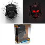 Lampada Da Muro 3d Darth Vader Star Wars
