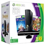 Console Xbox360 4gb Kinect Hvb