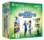 Console 4gb+kinect+sports2