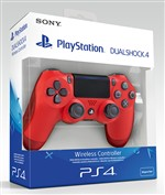 Sony Controller Dualshock 4 V2 Ps4 Red