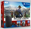 Console Ps4 1tb+watch Dogs 1+2
