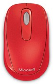 Wireless Mobile Mouse 1000 Red Flame Pc