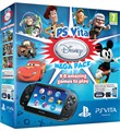 Console Ps Vita Wifi+disney Pack+mc 8gb