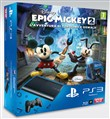 Console Ps3 12gb+epic Mickey 2