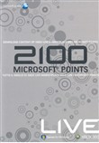 Xbox360 Live 2100 Pts Card