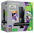 Console Xb360 250gb+kinect+dance2+sports