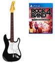 Rock Band 4 + Chitarra Fender Wrlss Ps4