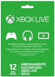 Card Live Gold 12 Mesi Xbox 360/one