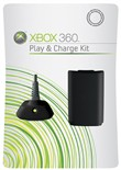 Xbox360 Play And Charge Kit Black