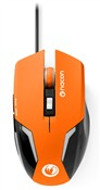 NACON Mouse Ottico 105 Arancione PC