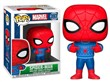 Figure POP! Marvel Christmas Spiderman