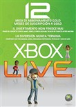 Card Live Gold 12 Mesi Xbox 360