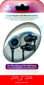 In-ear Headset + Telec.Distanza Psp