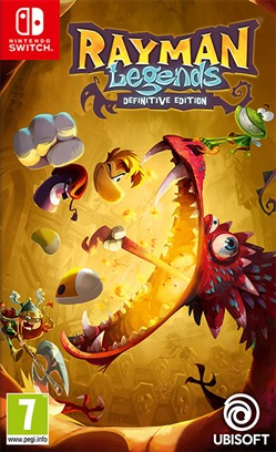 Rayman Legends Definitive Edition SWI)