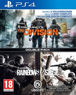 Compil Rainbow Six Siege + The Division (PS4)