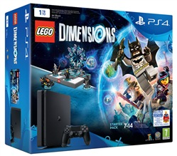 Image of Console Ps4 1tb + Lego Dimensions