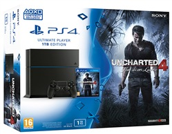 Image of Console Ps4 1tb + Uncharted 4 Ps4