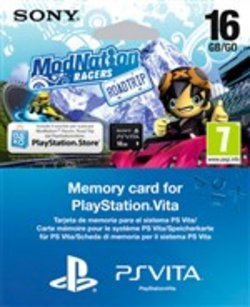 Memory Card 16gb+modnation Voucher Psvit