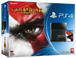 Console Ps4 500gb + Gow 3 Ps4