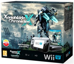 Console Wii U + Xenoblade Chronicles