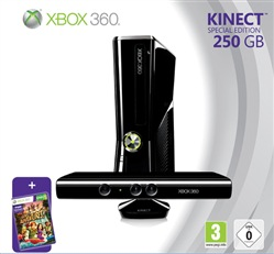 Console Xbox360 250gb + Kinect