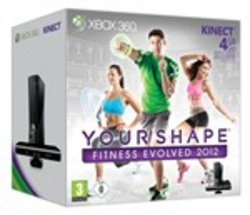 Console Xbox360 4gb+kinect+your Shape 2
