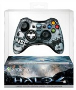 Controller Wireless Halo 4 Edition Xb360