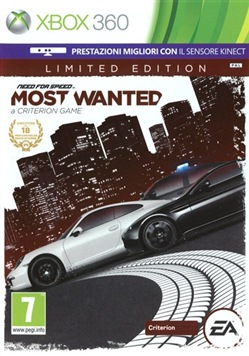 Need For Speed Most Wanted Lim. Ed. X360