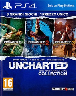 Uncharted:The Nathan Drake Coll. Ps4