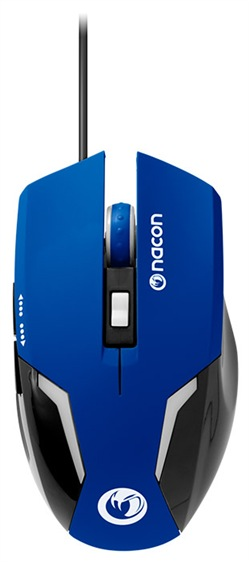 NACON Mouse Ottico 105 Blu PC