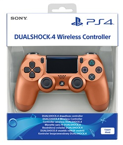 Sony Ctrl Dualshock 4 V2 Copper PS4