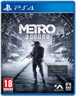 Metro Exodus - Day One Edition PS4