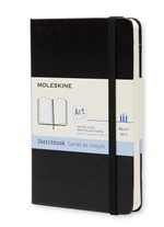 Moleskine Taccuino Sketchbook Pocket Nero