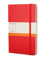 Moleskine Taccuino Rosso A Righe - Large