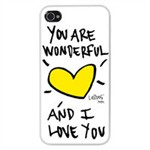 Cover rigida per iPhone 4 bianca
